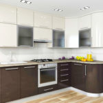 Кухня White & Gray